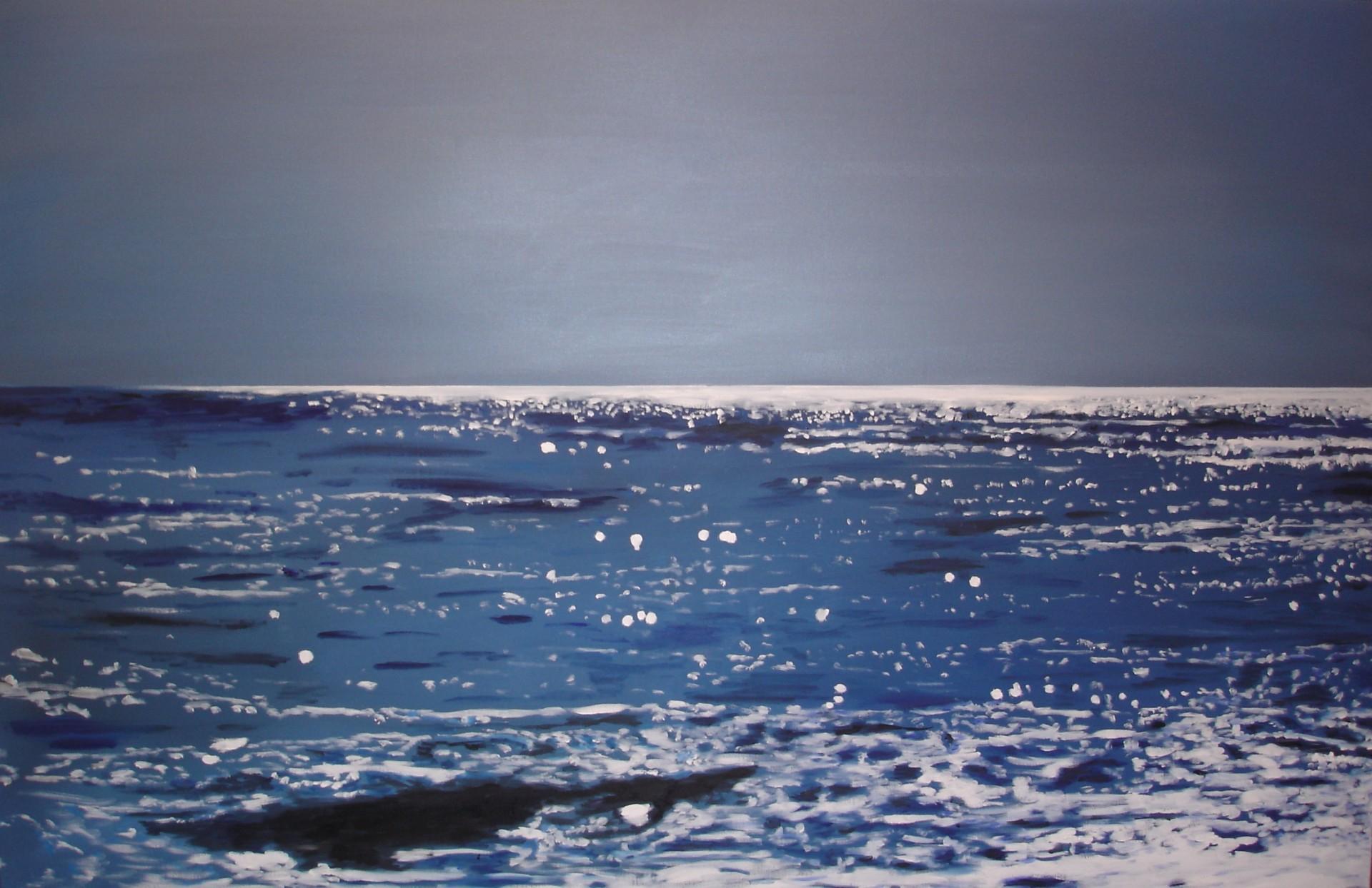 Swakop Lichtleicht, 2013, Öl auf Leinwand, 100 x 155 cm, sold