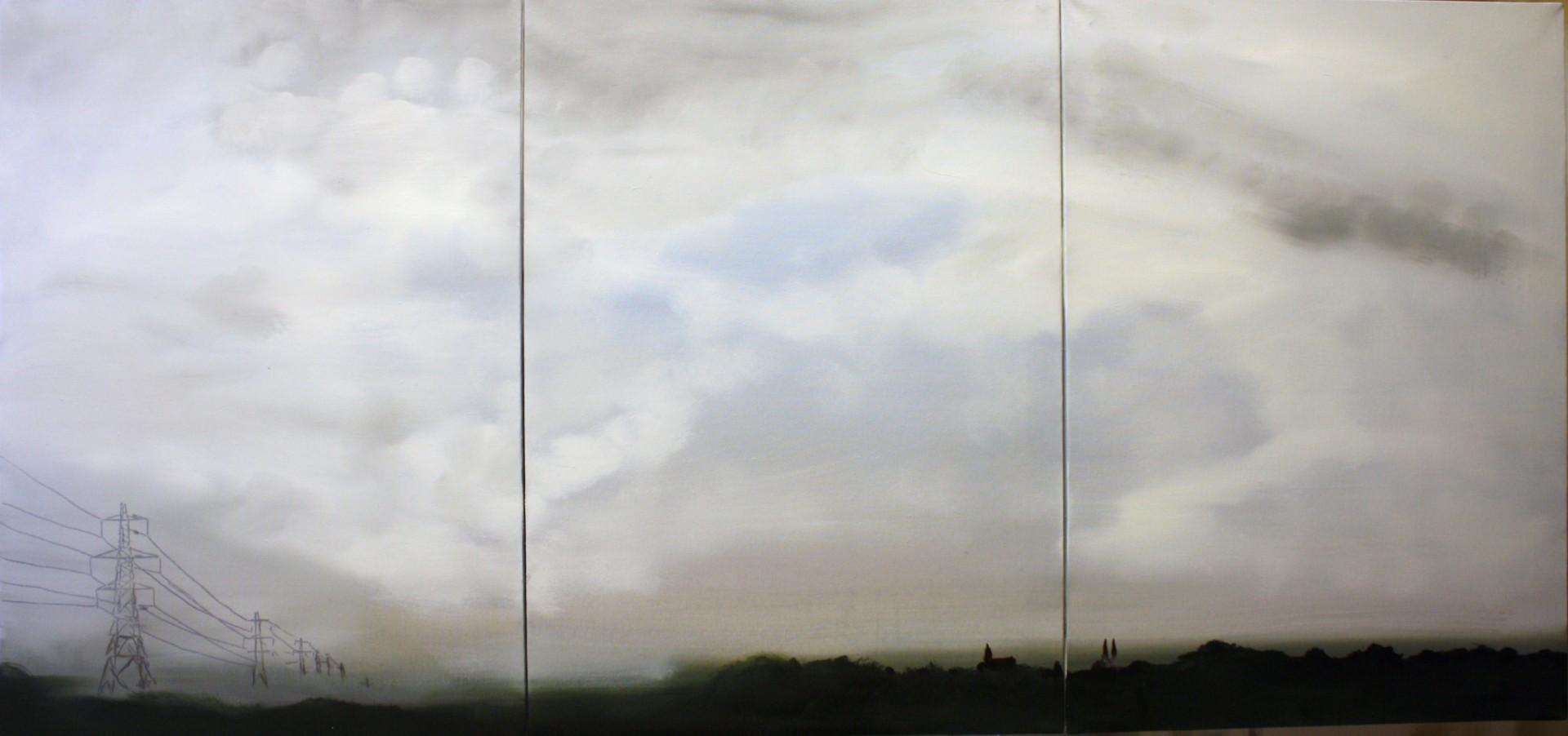 Sky 1 (2012) 140x60 - verkauft in Privatbesitz