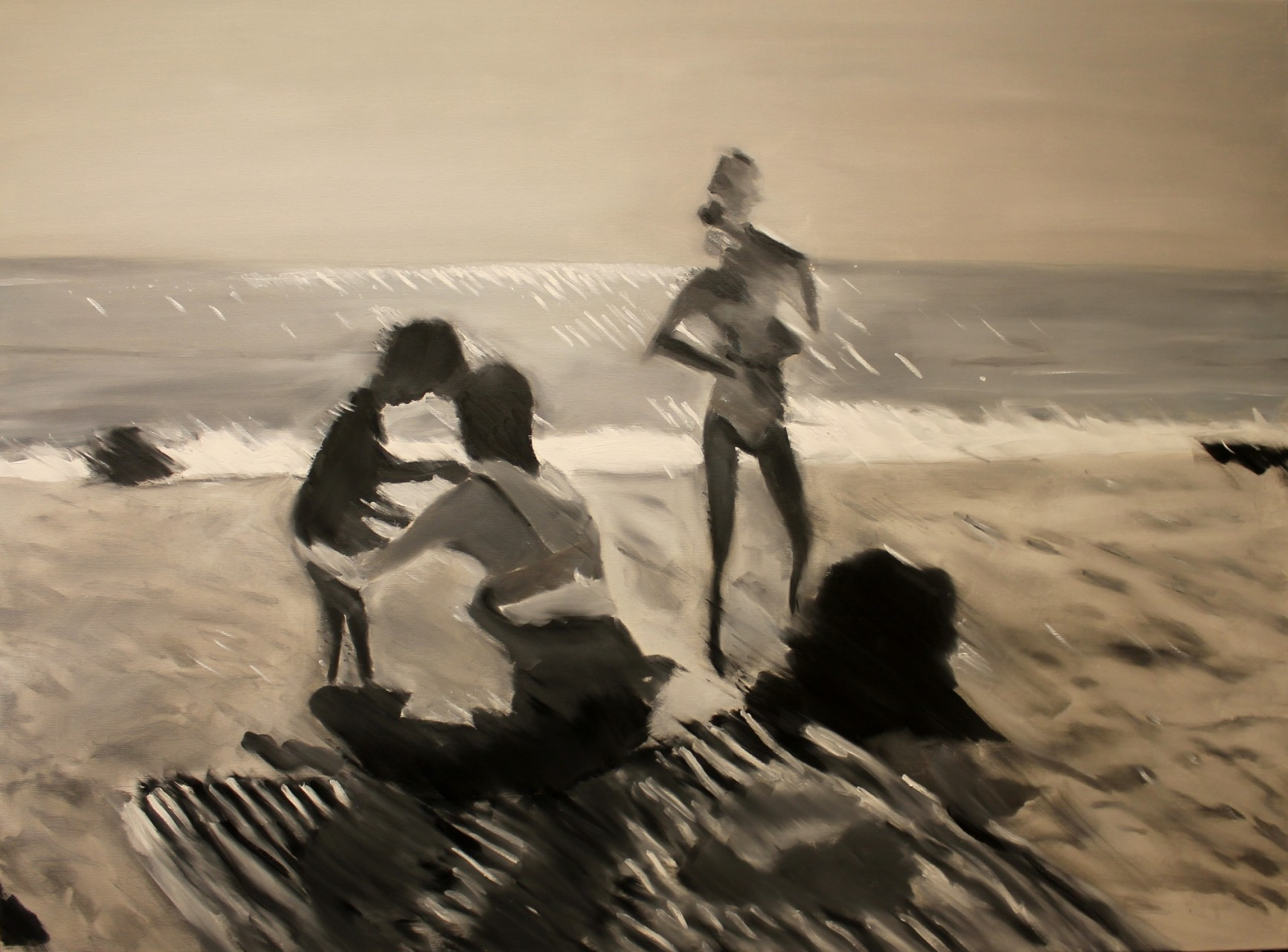 Swakop Family, 2013, oil on canvas, 100 x 140 cm