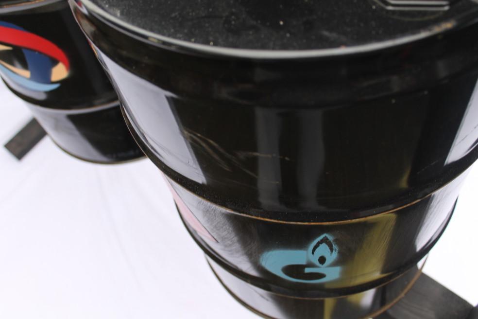 The Oil Barrel Prayer Wheel
