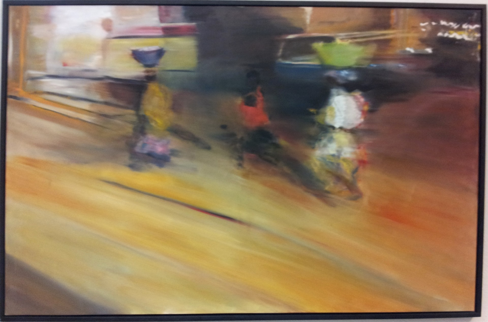 Luanda - Three women large (2012) 200x130 - verkauft/sold
