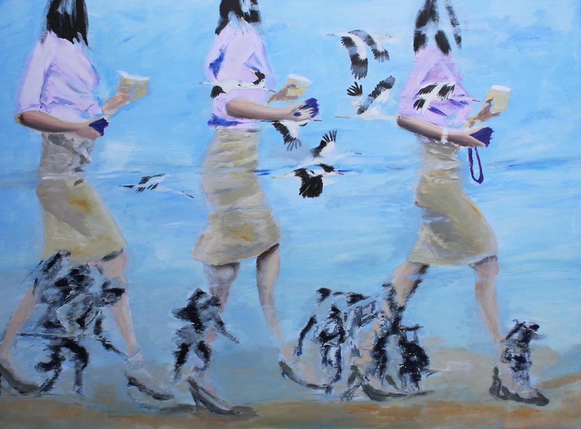 Desert Storm, Öl auf Leinwand, 100 x 140 cm, 2017